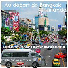 Louez les services d'un chauffeur privé à disposition  http://kanchanaburi-vacances.fr/location-minibus-en-thailande.html #location #véhicule #minibus VIP en #Thaïlande