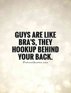 It goes the same for girls too..but guys r worse