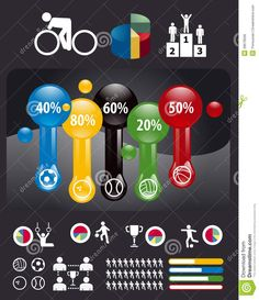 Sports Infographic Royalty Free Stock Image - Image: 28679506