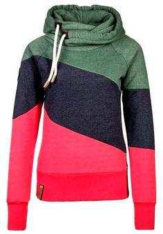 Rainbow color naketano hoodie