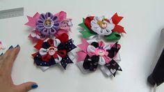 Flor liston facil y  elegantes para  lazos,video 533,Easy Make Magic Flo...