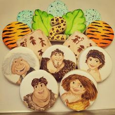 "Sweet Libby Cupcakes and Cookies: ""The Croods"" Themed Birthday Party!"