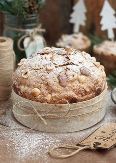 White pudding with truffle shell - Healthy Food Mom Summer Desserts, Christmas Desserts, Christmas Baking, Gourmet Recipes, Sweet Recipes, Dessert Recipes, Yummy World, Levain Bakery, Sweet Bread