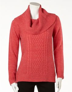 cleo - Baby Cable Cowl Neck Sweater