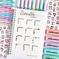 Doodle corner ideas that you can not use in your bullet or in your study … – point Related posts: Bullet Journal Doodles: 24 great doodle … Bullet Journal Headers, Bullet Journal Banner, Bullet Journal 2020, Bullet Journal Notebook, Bullet Journal Aesthetic, Bullet Journal Layout, Bullet Journal Ideas Pages, Bullet Journal Inspiration, Bullet Journal Dividers