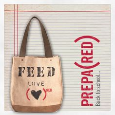 #BacktoSchool Idea #1: FEED (PRODUCT)RED Special Edition LOVE 30 Bag @FEED