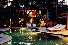 Hoteles fuera de la ciudad del mundo: Uxua Casa Hotel (Trancoso, Brasil)