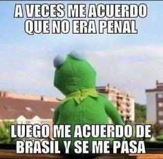 #memes #español #mundial2014 #mundialbrasil2014 #brasil2014 #noerapenal #brasil #alemania