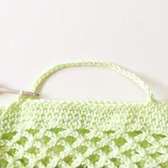 Häkelanleitung für ein Einkaufsnetz   ♥Zuckersüße Äpfel - kreativer Familienblog♥