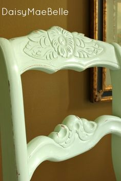 Mint Green Chalk Painted Chair