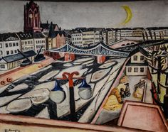 Max Beckmann - Ice on the River, 1923 - Städel Art Museum Frankfurt Germany