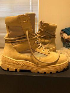 d2c58cc88325c Yeezy Season Yeezy Season 4 Sand Boots Size 10  300