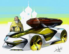 latex by Aleksandr Sidelnikov on ArtStation.