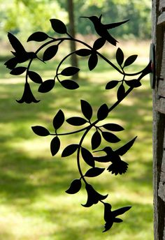Hummingbird Vine by Trellis Art Designs