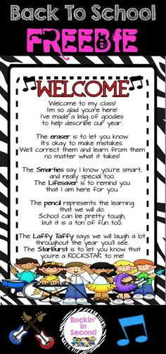 open+house+goody+bag+ideas | goodie bag poem that many teachers use for Meet & Greet or Open House ...