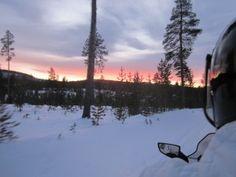 Sunrise in Arctic heaven -- Lapland, Finland