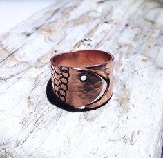 #copperjewellery #handmadecopper #handmadecopperjewellery #handmadecopperring #texturedcopper #texturedcopperring #hammeredcopper #shopscotland #fishjewellery #copperfish Copper Rings, Hammered Copper, Fish Design, Loch Ness Monster, The Loch, Handmade Copper, Beautiful Gifts, Gifts For Friends, Scotland