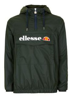 ELLESSE Khaki Overhead Jacket