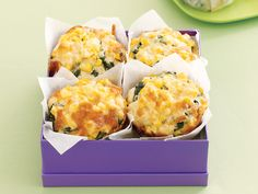 These hearty savoury muffins are great for lunchboxes, morning tea and even breakfast on the run.