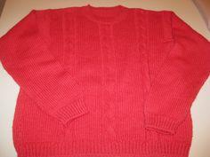 maglione bimbo rosso