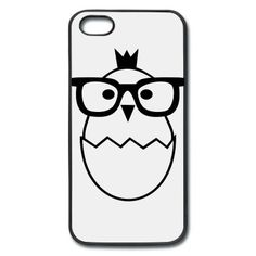 chick glasses iPhone 5 Cover | Spreadshirt | ID: 23824437