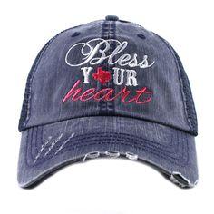 5c77b71186b Katydid  Bless  Your  Heart  Western Women s Trucker Hat for  22.95 at www