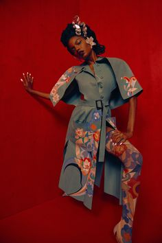 """lucesolare: """"Ebonee Davis and Paolo Roldan by Micaiah Carter for Paper Magazine """" Black Girl Art, Black Girl Magic, Black Girls, Black Photography, Fashion Photography, Fashion Art, Editorial Fashion, Fashion Images, Couture Fashion"""