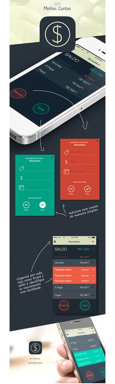 Minhas Contas #WebDesign #Web #Design #UI #UX #GUI #FullScreen #Responsive #ResponsiveDesign #Brand #webSite #Creative