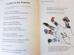 Das hier ist der Kapitän #fingerspiel #krippe #kita #kindergarten #kind #reim #gedicht #erzieherin #erzieher