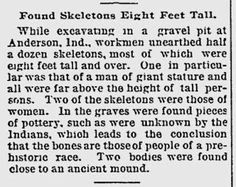 The Encyclopedia of Ancient Giants (Nephilim) in North America: 8 Foot Nephilim Giants Discovered Near Mounds State Park in Anderson, Indiana Mounds State Park, Anderson Indiana, Nephilim Giants, Giant People, Wax Stamp, Ancient Aliens, Ancient History, Have A Beautiful Day, State Parks