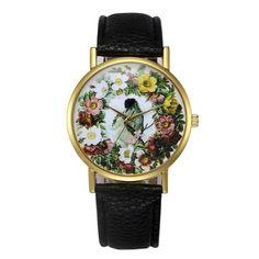 New Flower Women's quartz watch