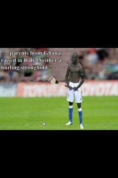 The Balotelli Hurling Photoshop