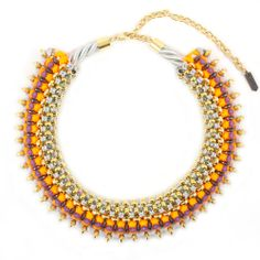 Geode statement necklace - 50% off from SOLLIS