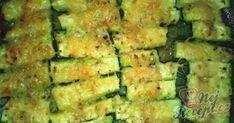 Vynikající křupavé cuketové hranolky se sýrem | NejRecept.cz Zucchini, Health Fitness, Low Carb, Pizza, Vegetables, Russian Recipes, Polish, Contouring, Hokkaido