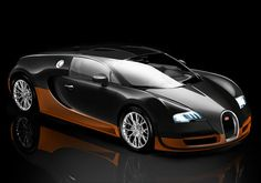 The Bugatti Veyron Super Sport reached a Guinness World Records-certified top speed of 431 km/h or 268 mph