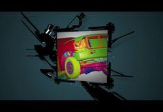 Motion graphics. CESGA. Agosto 2011.