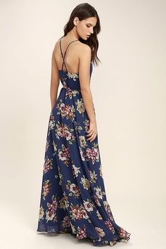 Best 41 Floral Maxi Dress For Summer You'll Love #Dress #Floral #Maxi #Summer