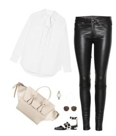 """Unbenannt #529"" by llsbo ❤ liked on Polyvore featuring Equipment, rag & bone, Toga, MANGO, CÉLINE and Emporio Armani"
