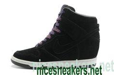 quality design 4044f f7232 Nike Dunk Sky Hi Lib NRQ Casual Black Sail Court Purple 528899 014