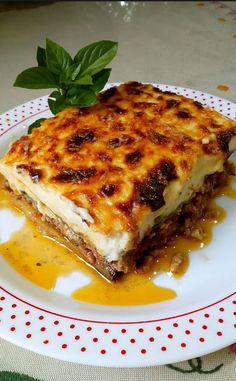 Cookbook Recipes, Cooking Recipes, Lasagna, Ethnic Recipes, Food, Greek Recipes, Chef Recipes, Essen, Lasagne
