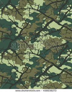 Fashionable camouflage pattern, vector illustration.Military print .Seamless vector wallpaper