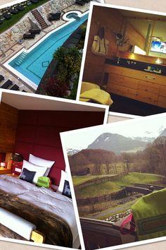 Entspannte Momente auf dem #SpaCamp in Kitzbühl. Unsere Location war das Grand Tirolia