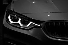 BMW 4 series headlight detail