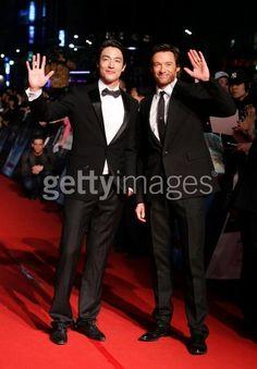 Actor Hugh Jackman and Daniel...