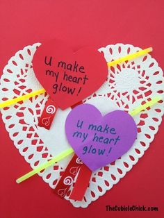 DIY Valentine Cards on the Cheap