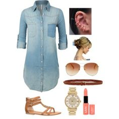 Cute summer spring outfit