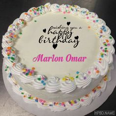 Best Colorful Birthday Cake With Name Edit