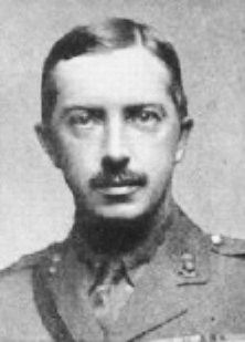 Capt. Douglas Reynolds VC, 83rd Bgde RFA. B. Bristol 20.9.1882|23.2.1916. On 26.8.1914, at Le Cateau, Capt. Reynolds took 2 teams, to recapture 2 British guns under heavy German artillery & infantry fire. Although the enemy was within 100 yds he managed, with the help of 2 drivers to get 1 gun away safely. On 9|9, at Pysloup, he discovered a battery which was holding up the advance & silenced it. For these, he was awarded the VC & promoted Major. Later wounded in action, died at Le Touquet