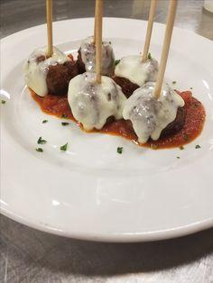 Meatball lollipops