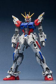 Custom Build: MG 1/100 Build Strike Gundam [DETAILED] Work in Progress - Gundam Kits Collection News and Reviews